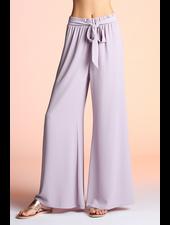Tie Front Wide Leg Pants