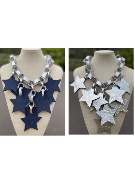 Reversible  Leather Necklace