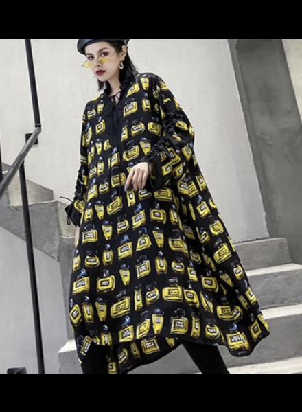 Midi Dress Over Size Dress