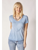 SHORT SLEEVES T-SHIRT WITH EMBROIDERY