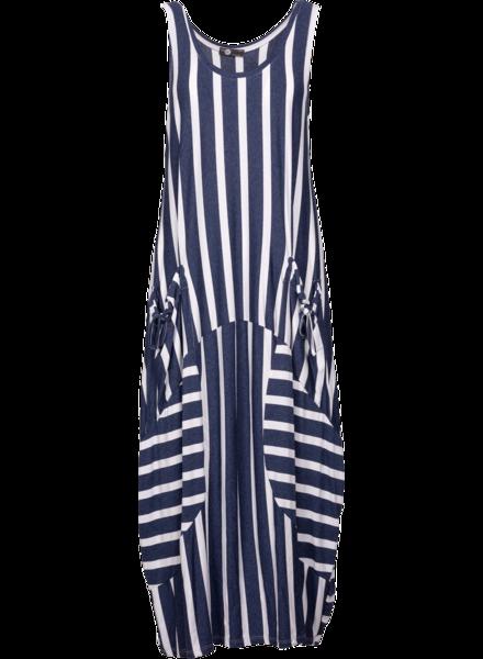 Knitted Sleveless dress Navy