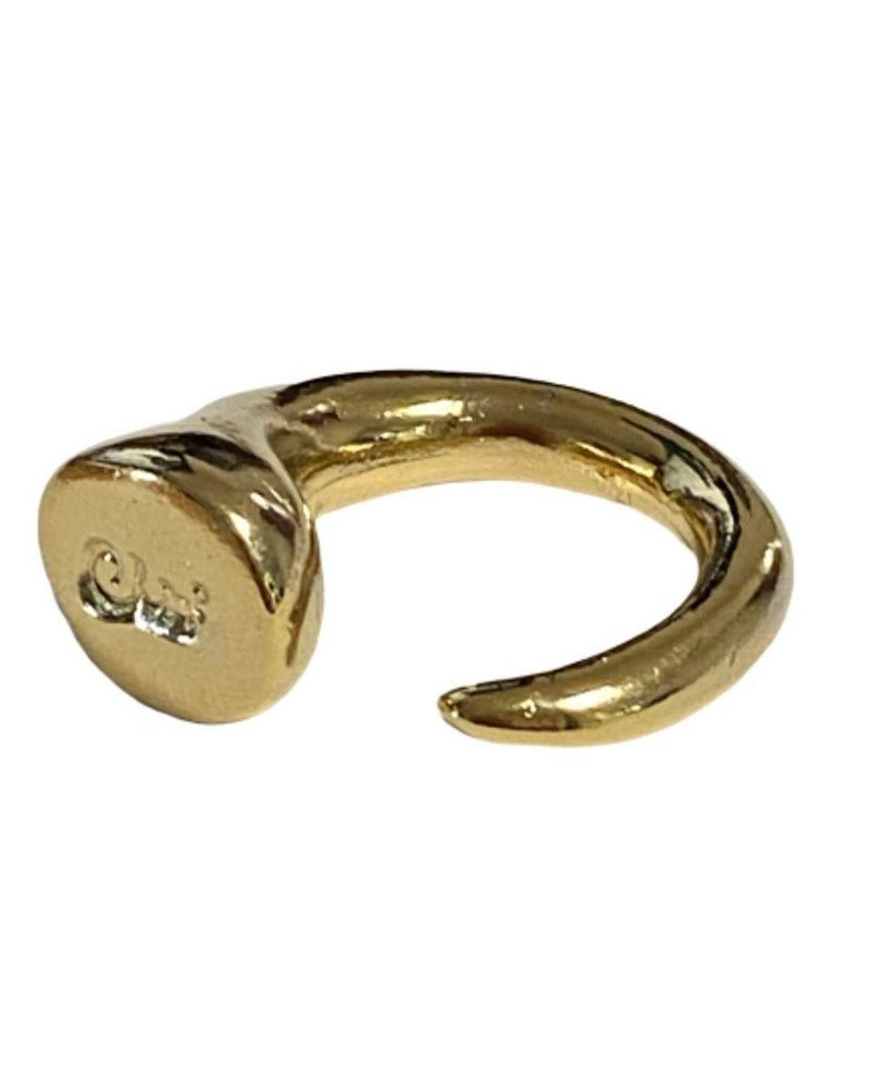 Enso Gold Ring