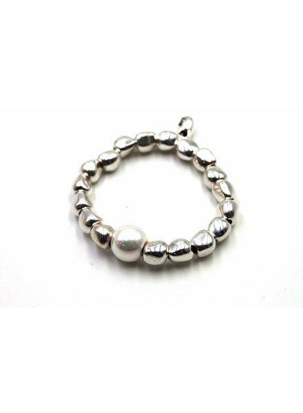Tonga Brazalete Silver