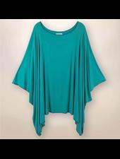 Naomi - Low Sides Tunic - Turquoise