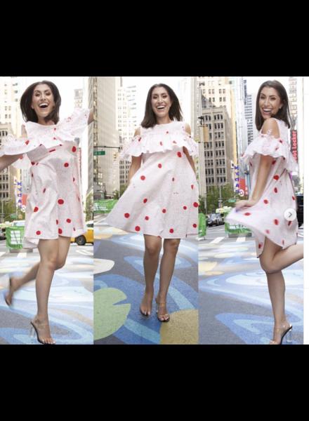 cotton dots dress