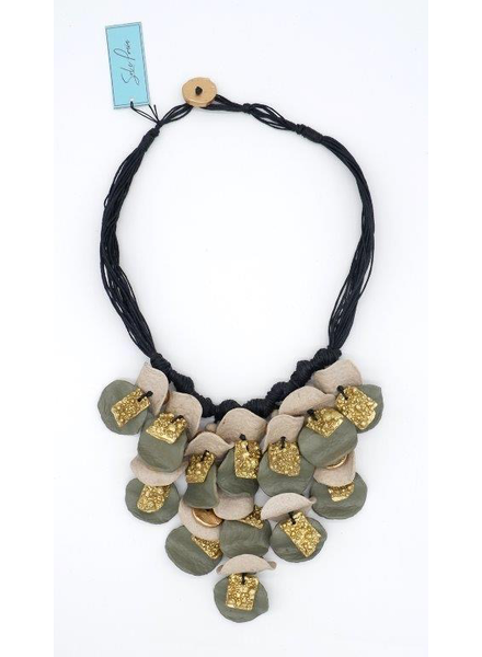 Recycled Paper Necklace