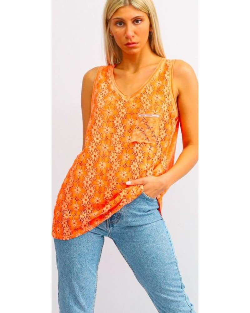 Lace Top Tank