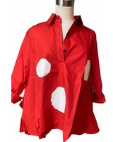 Polkadot Red top one size
