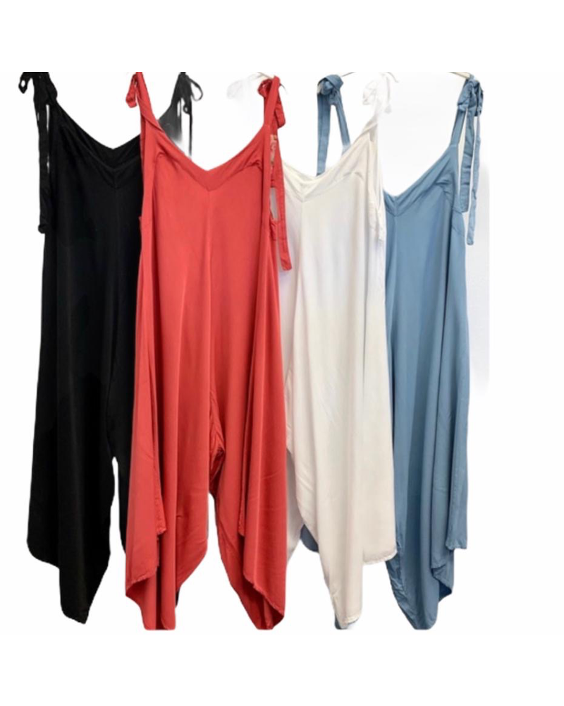 Harem Jumpsuit Made in Italy