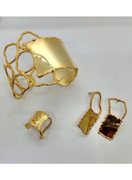 cuff brass hand made