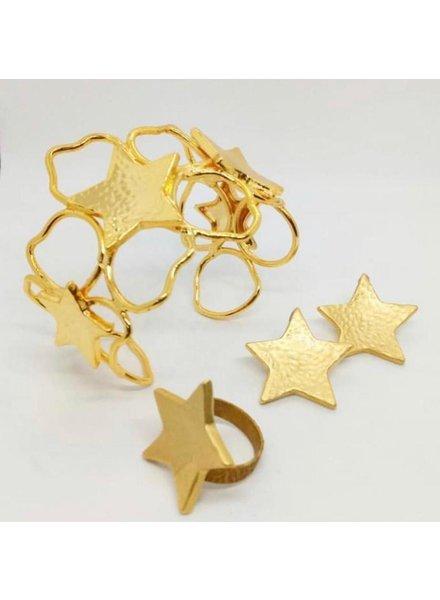 cuff brass jewelry, hand made