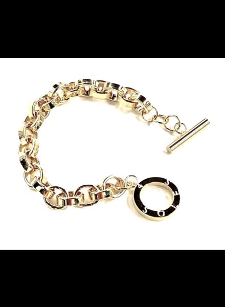 4 Soles Bracelet Silver or Gold