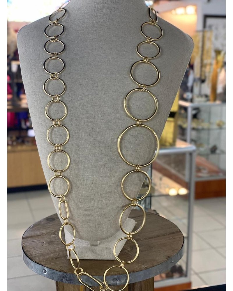 Circle Long Necklaces