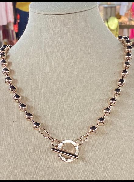 Gold Rose 8m Necklaces
