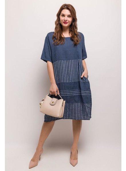Over Size Linen Dress