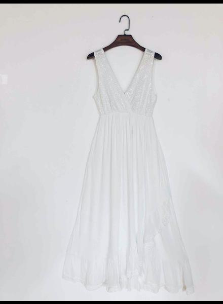 Long White Dress