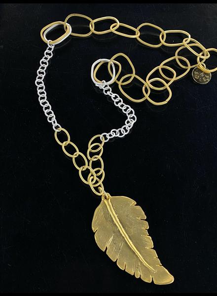 Leaf Long Necklace