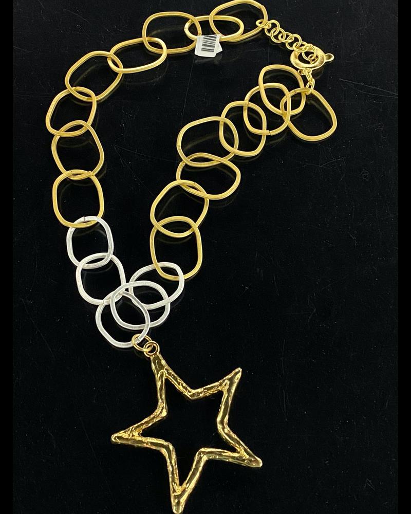 Big Star 4 Soles Necklace