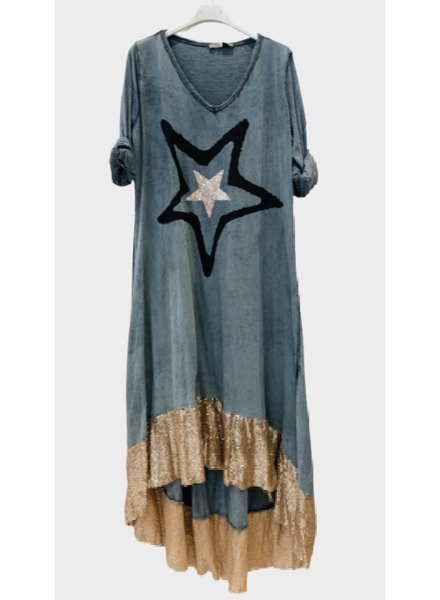 Big Star Sequin Dress