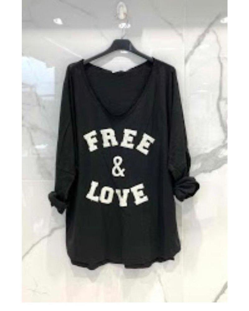 Free & Love Shirt