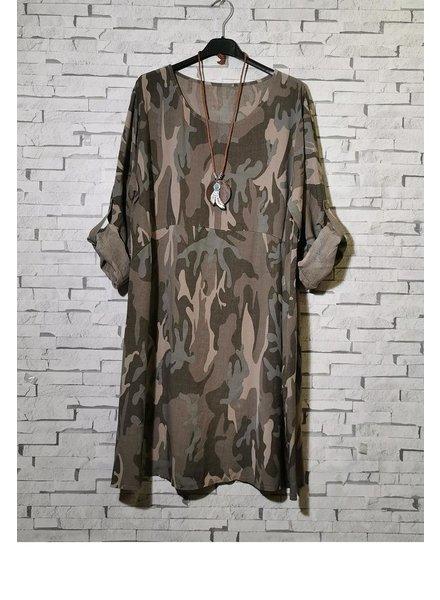 Loose Military dress