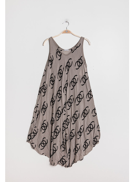 Printed Loose dress