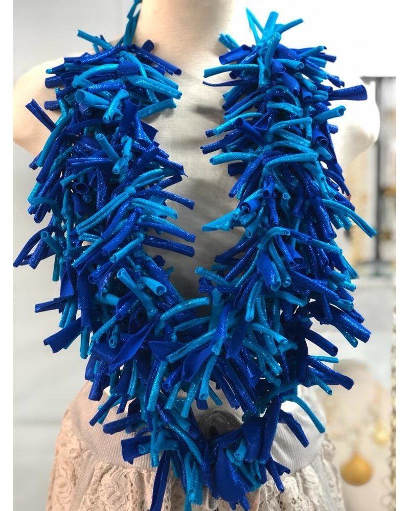 handmade lycra necklace