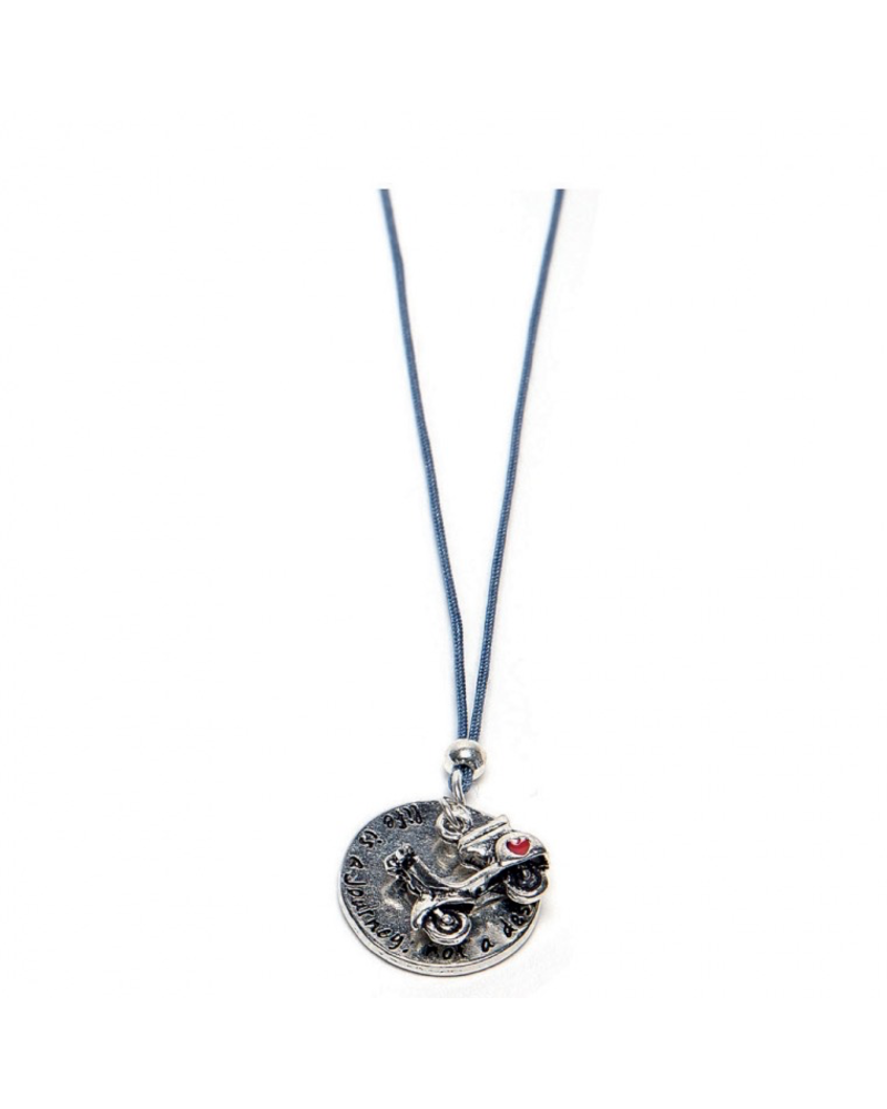 NECKLACE MOTORBIKE PLATE