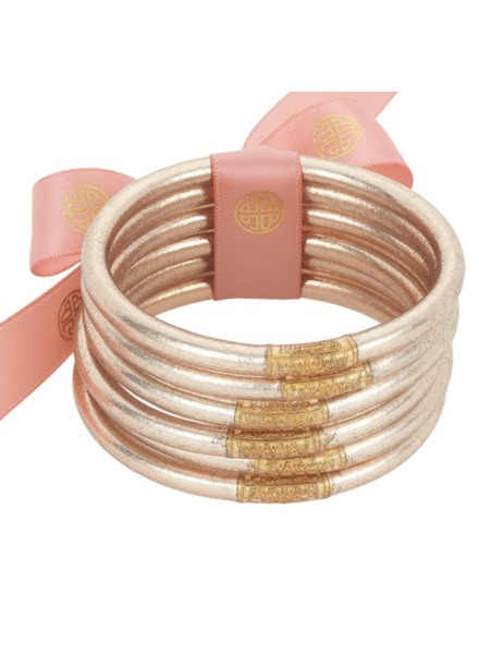 CHAMPAGNE ALL WEATHER BANGLES