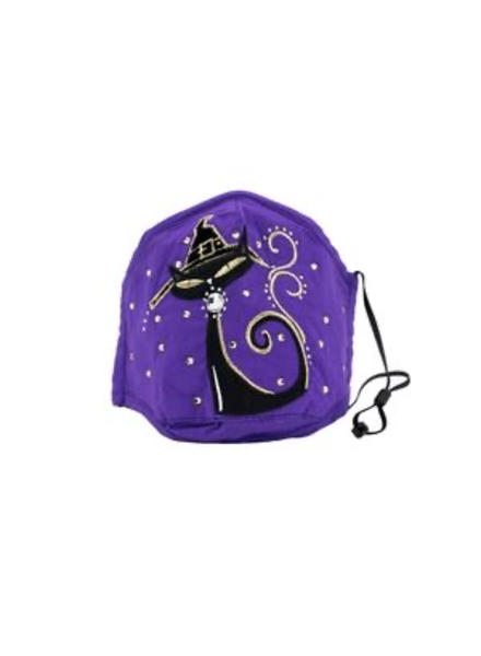 Purple Cat mask