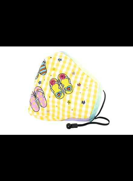 I Love Flipflops Mask