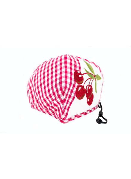 Cherries Deluxe Mask (Red)