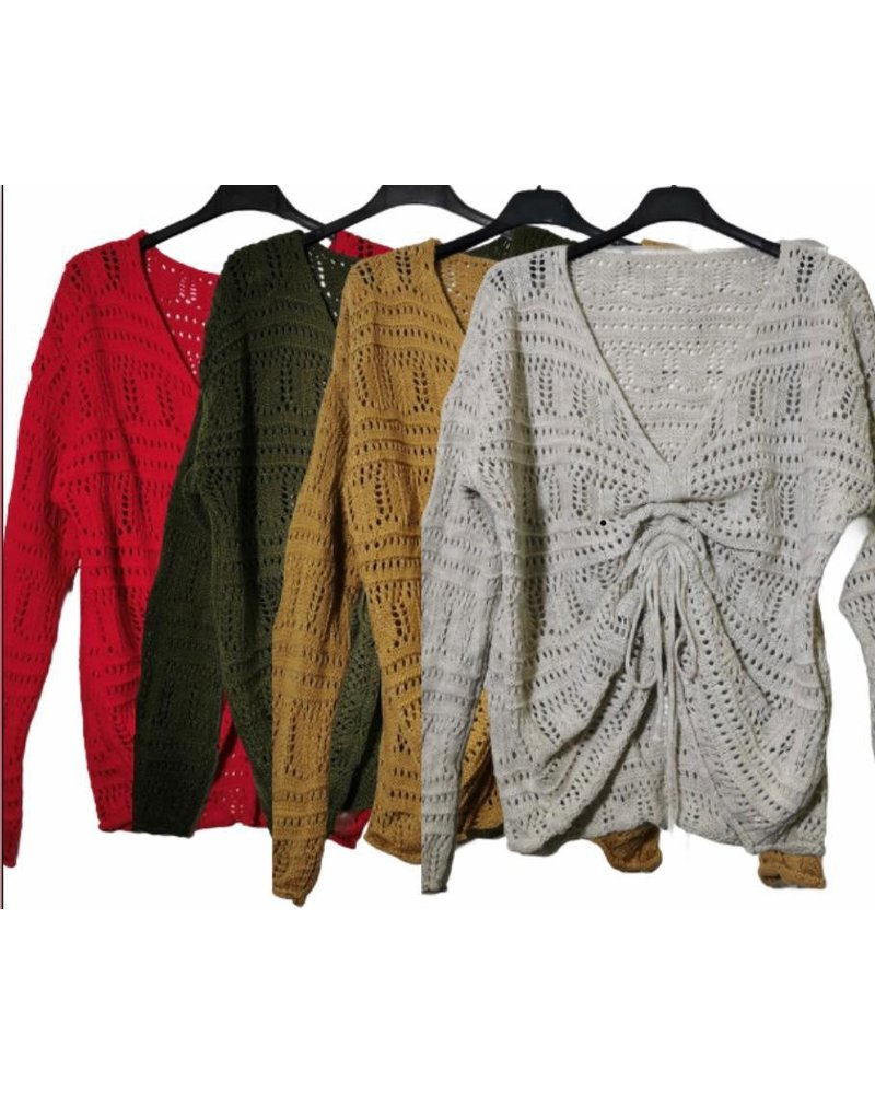 Light Sweater with String