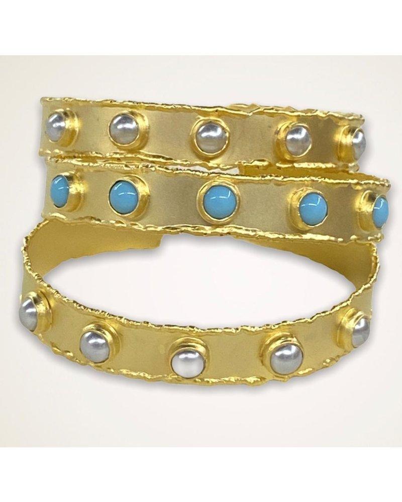 Gold Plated Bangle