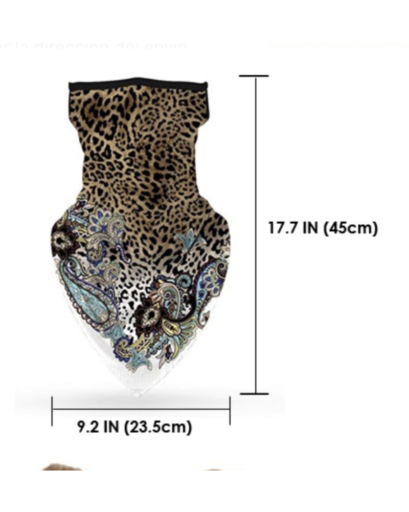 Leopard Neck Scarf