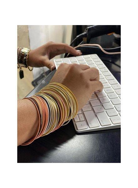 wire bracelets, 60 bracelets mix