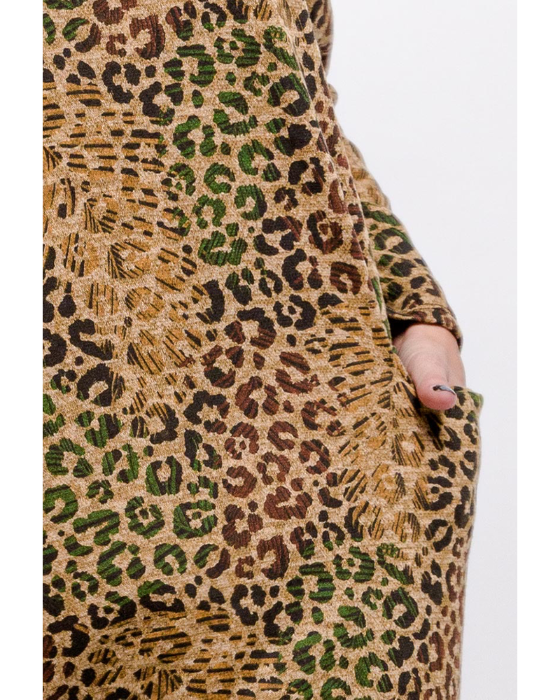 Animal Print. Dress