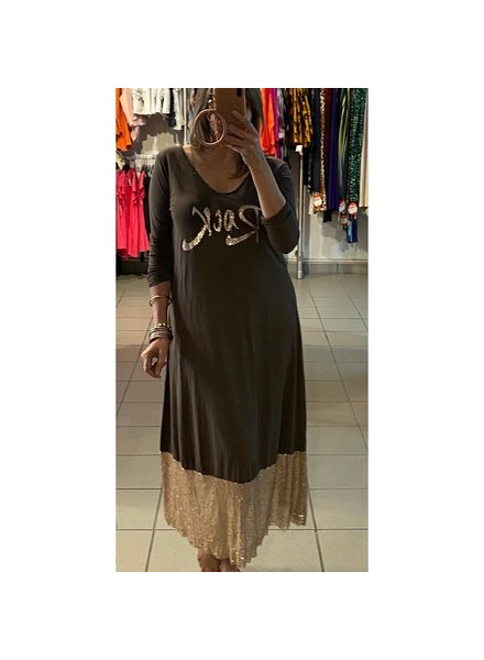 Rock Sequin Dress