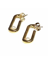 Pierces 18k Gold Plated