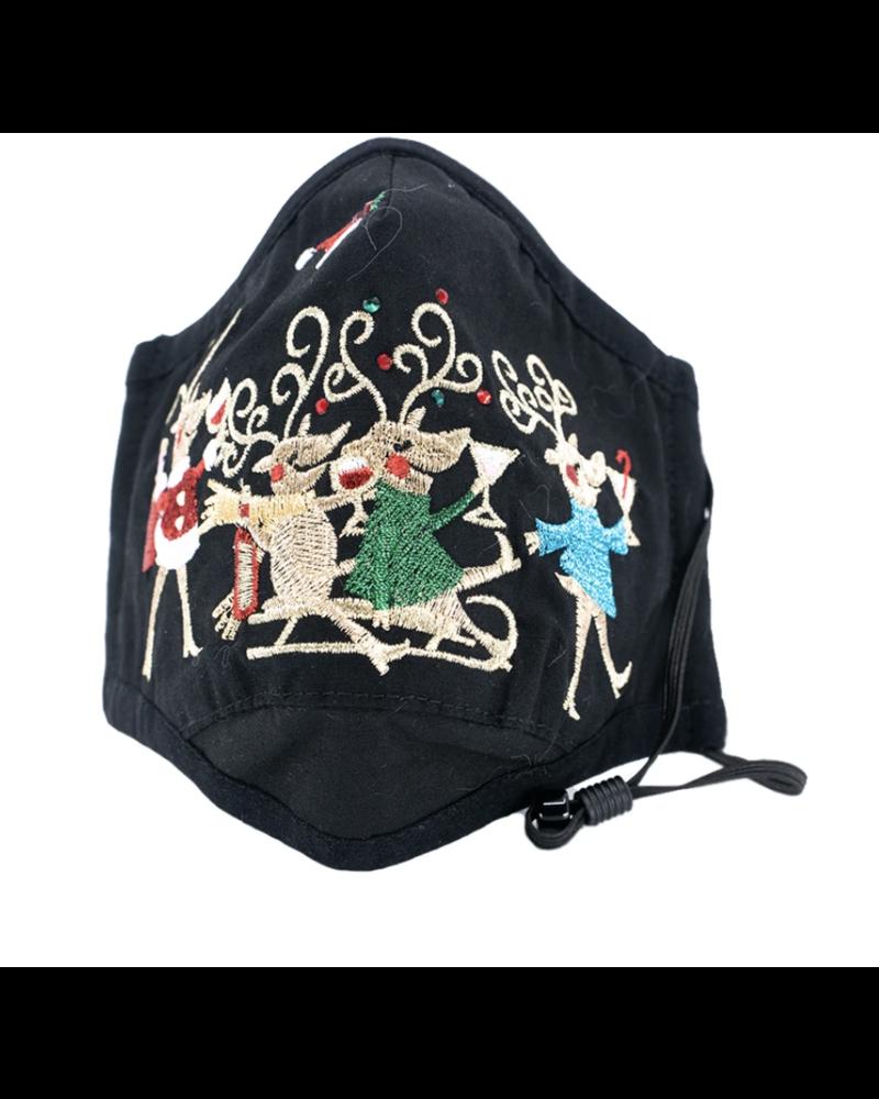 A Reindeer Game Mask (Black)