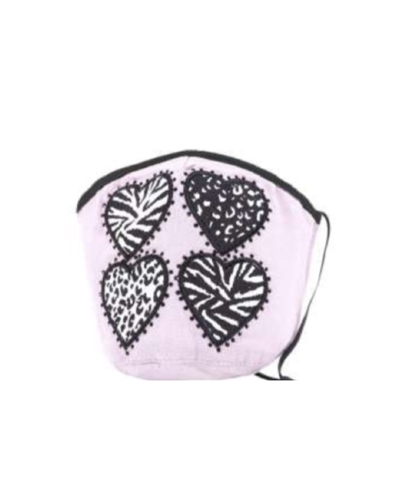 Animal Hearts Mask