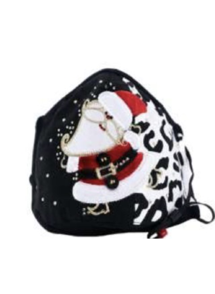 Leopard Santa Dance Mask