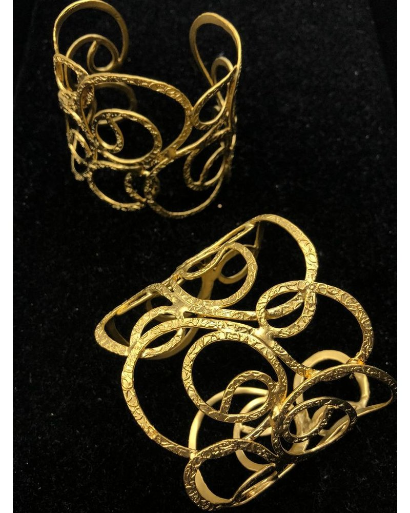 "2"" Gold Plated Cuff"