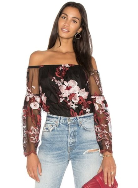 magnolia off shoulder