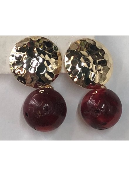stone earrings<br /> call for colors