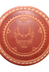 Boneshaker Coaster - Leather