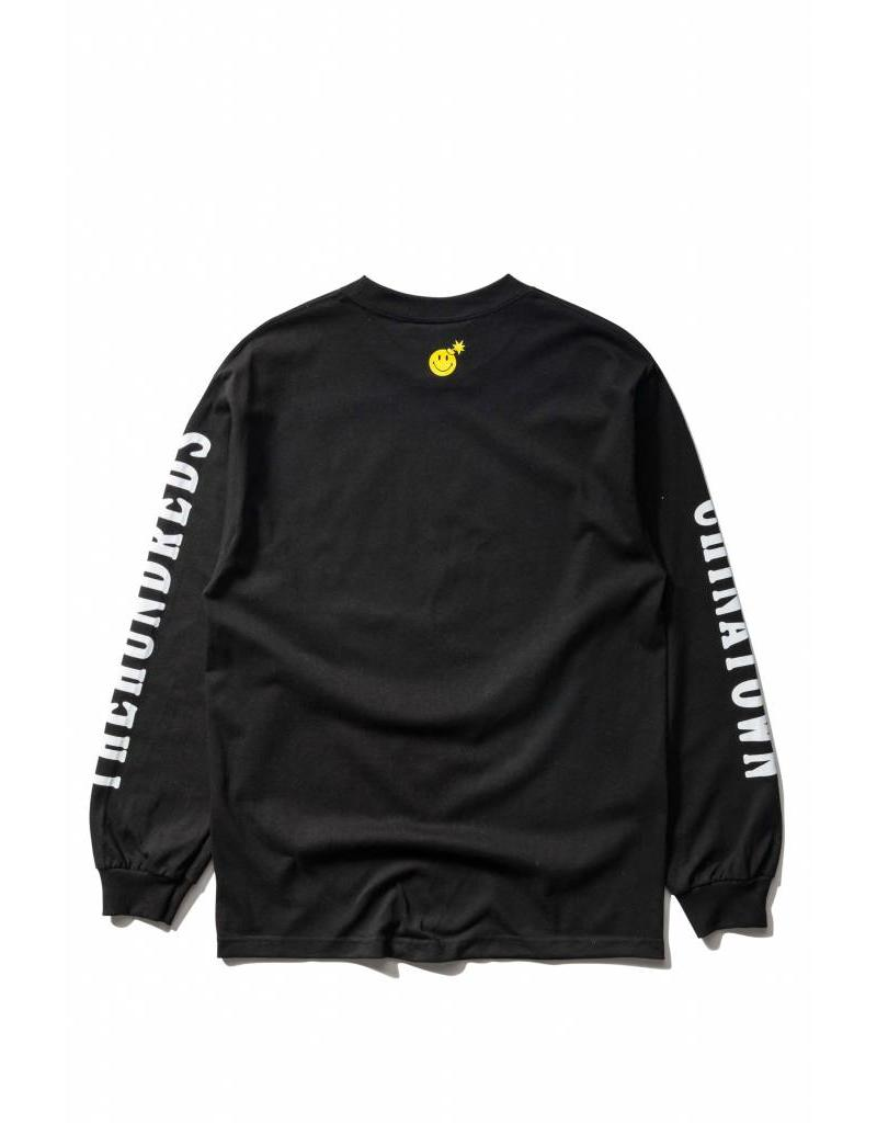 The Hundreds x Chinatown Smiley Adam L/S