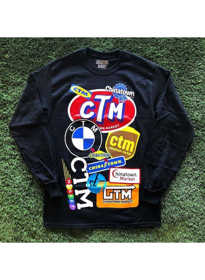 Logo Collage L/S T-Shirt