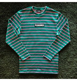 Pleasures Vortex Long Sleeve Stripped Shirt