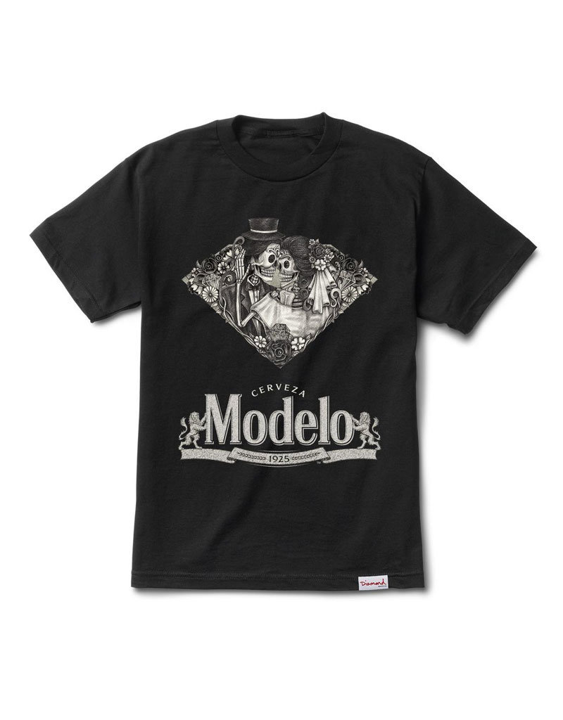 x Modelo Dia De Los Muertos T-Shirt